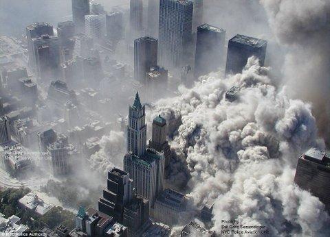 11 settembre 2001: La demolizione controllata delle Torri Gemelle