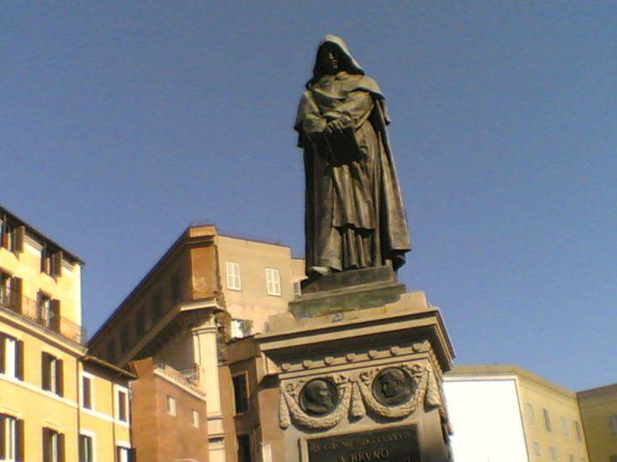 giordano bruno statua