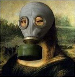 monnalisa con maschera