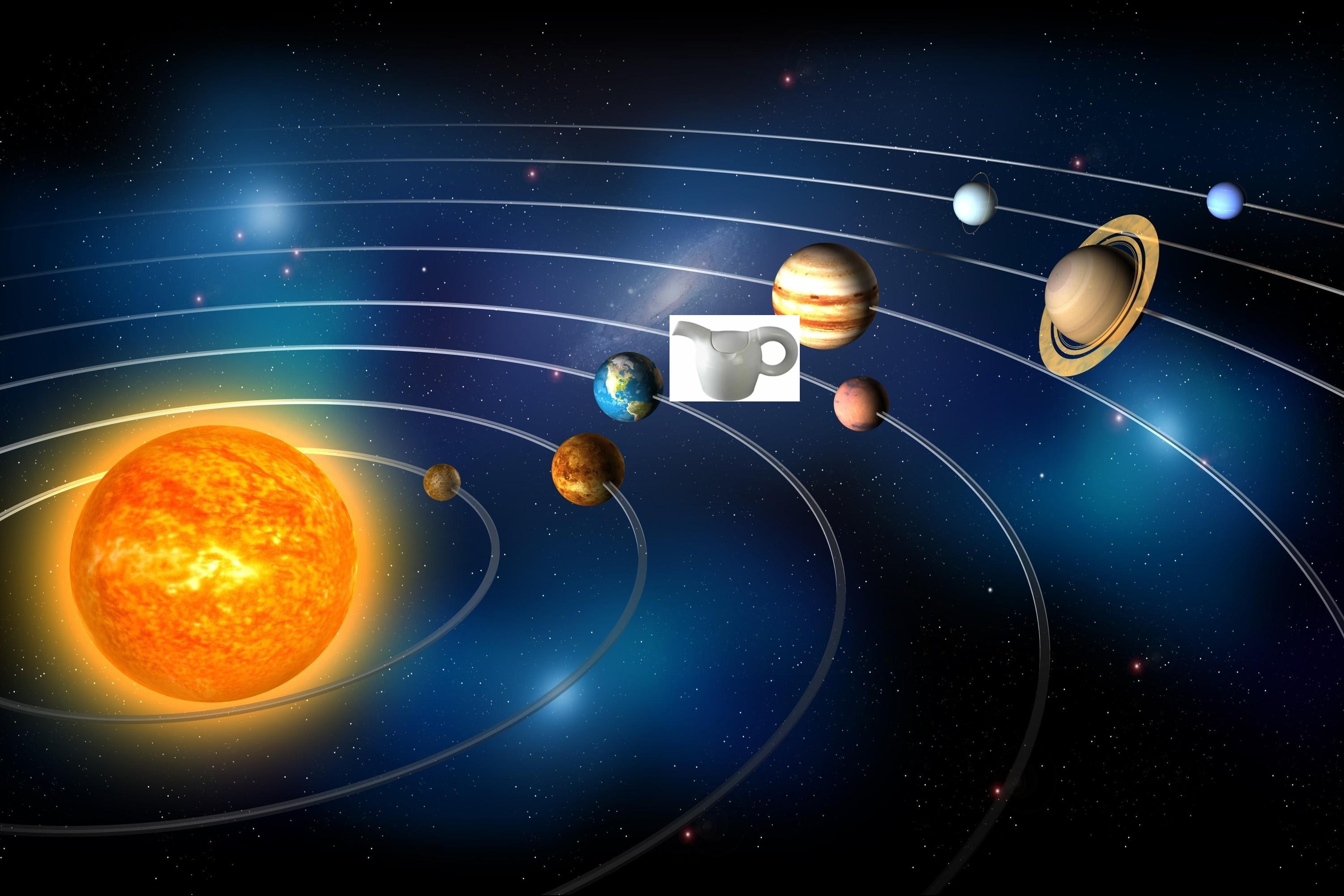 Teierasistema solare